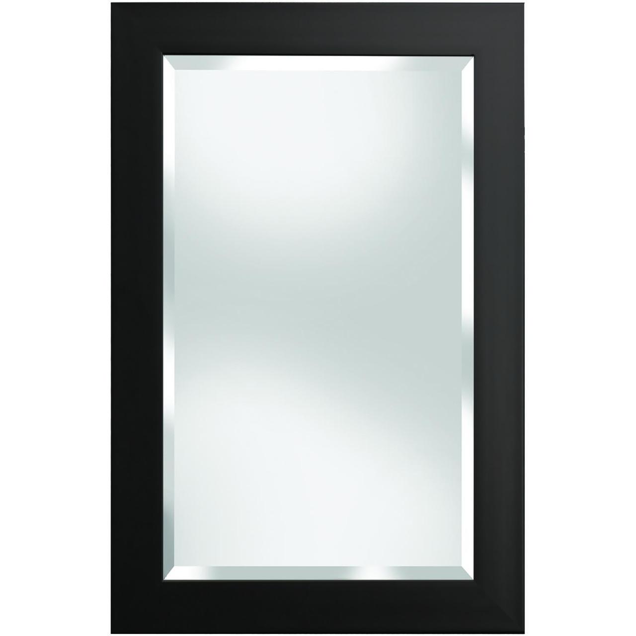 Austin Black Framed Mirror - Renin