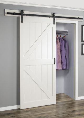 Stone K Easy Glide Soft Close Barn Door Renin