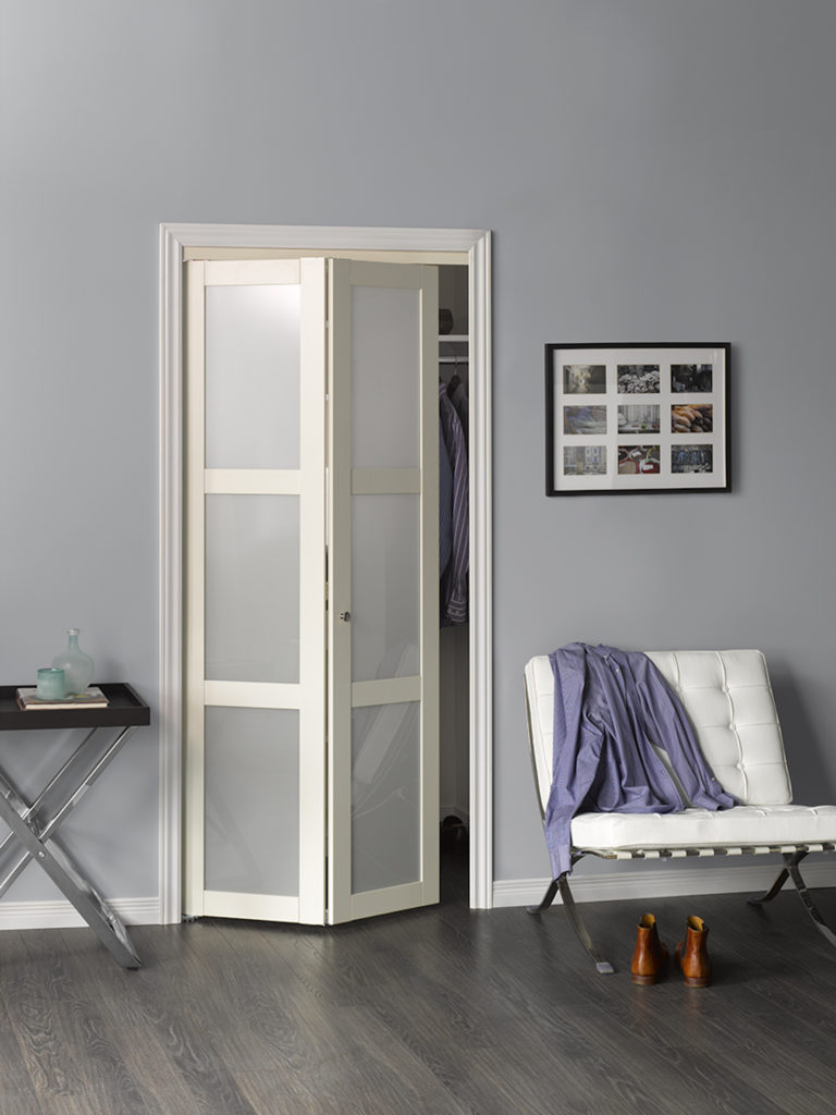 A picture of a Structured Bifold Door.