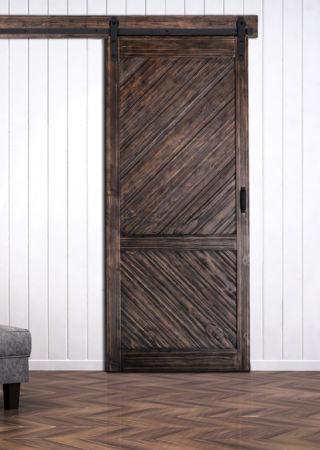 Gladstone Barn Door With Easy Glide Soft Close Renin