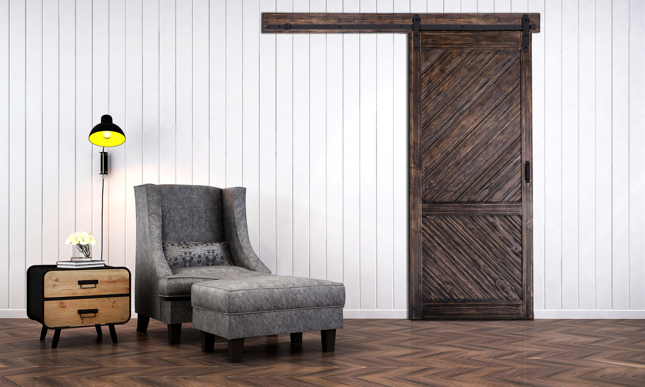 Gladstone Barn Door With Easy Glide Soft Close Renin