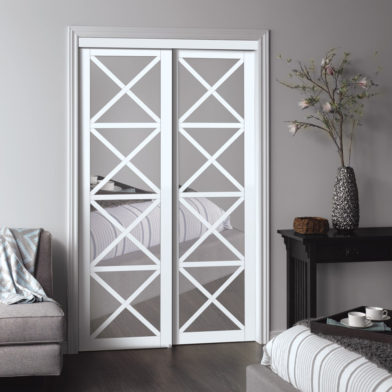 Urban Collection Lace Sliding Closet Door Renin