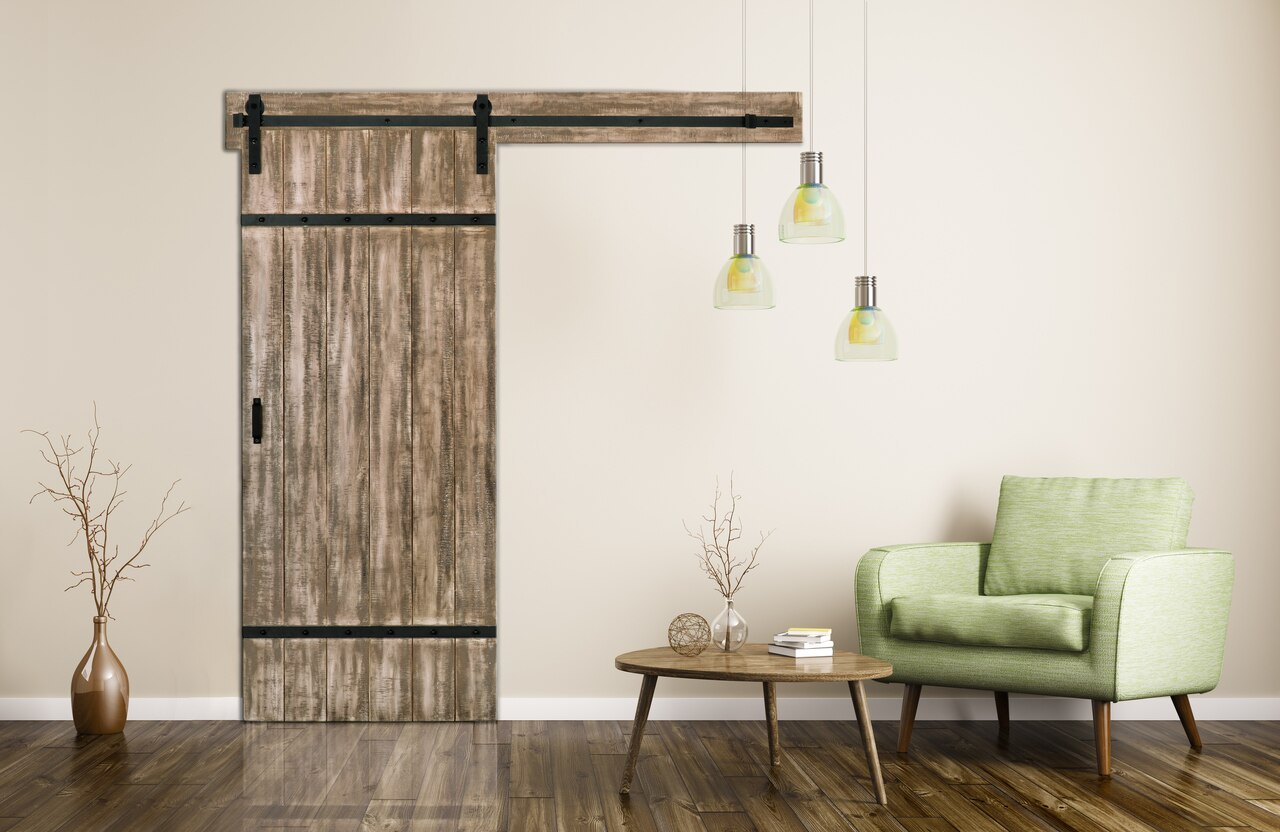 Authentic Barn Door With Easy Glide Soft Close Renin