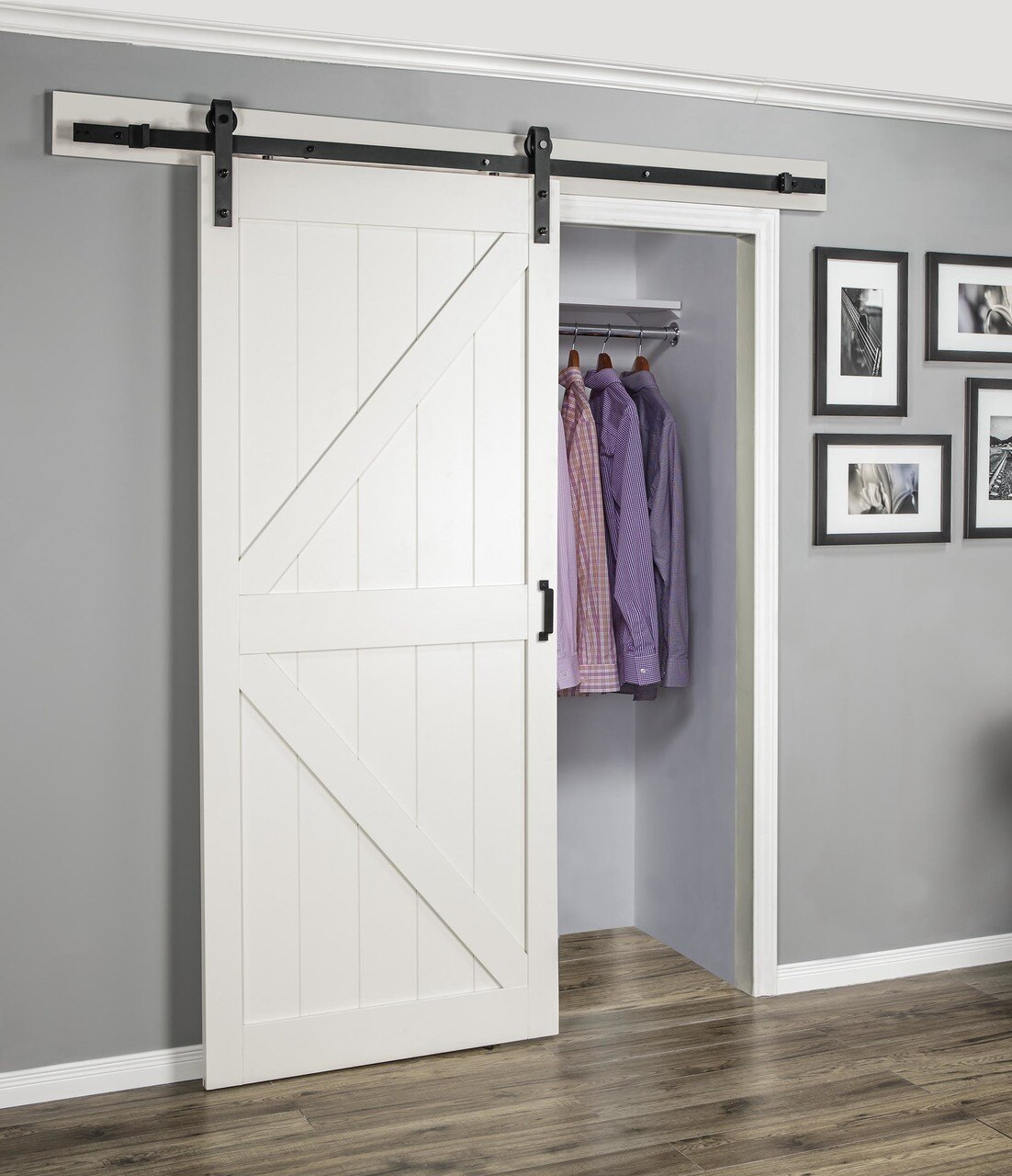 Stone Easy Glide Soft Close Barn Door - Renin