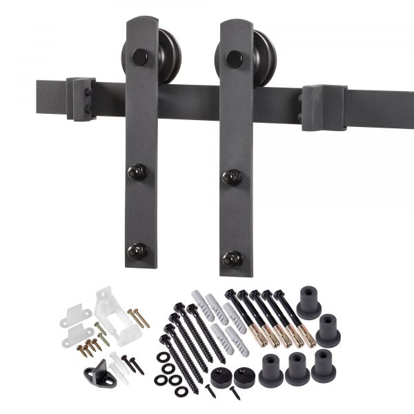Spectrum Straight Strap Barn Door Hardware Kit Renin Barn Door Hardware Kits