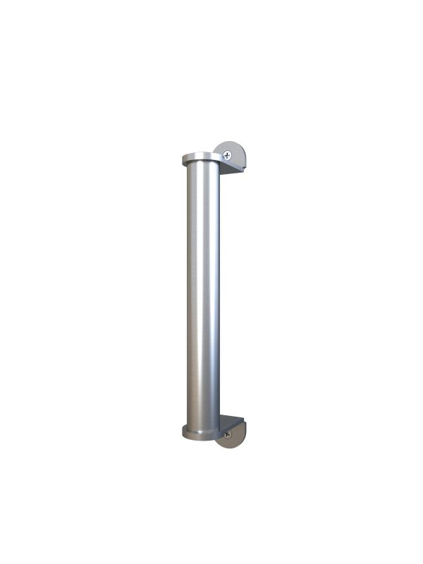Deben Door Handle Satin Nickel