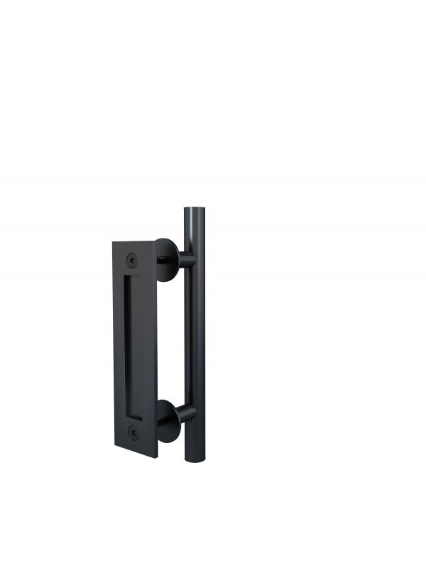 Alperton Door Handle Matte Black