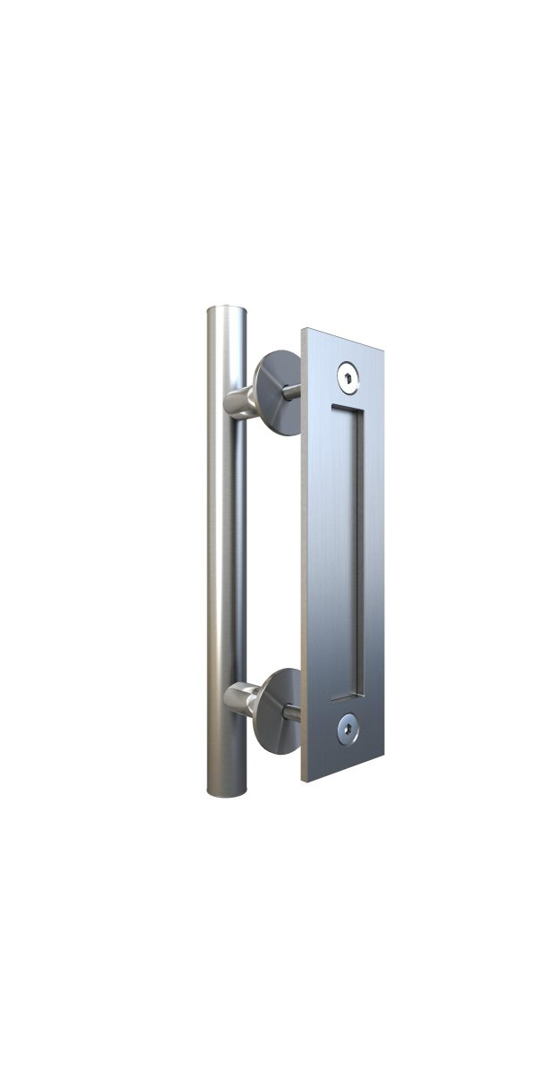 Alperton Door Handle Satin Nickel