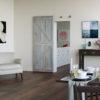 Invisiglide 36-inch Satin Nickel Driftwood Lifestyle