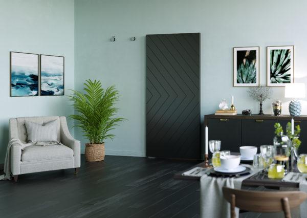 Invisiglide 42-inch Satin Nickel Sherwood Lifestyle