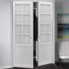 Pivot Urban Lite Frosted Glass Pure White Lifestyle Straight