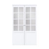 Pivot Urban 8 Lite Frosted Glass Pure White Product Float Straight