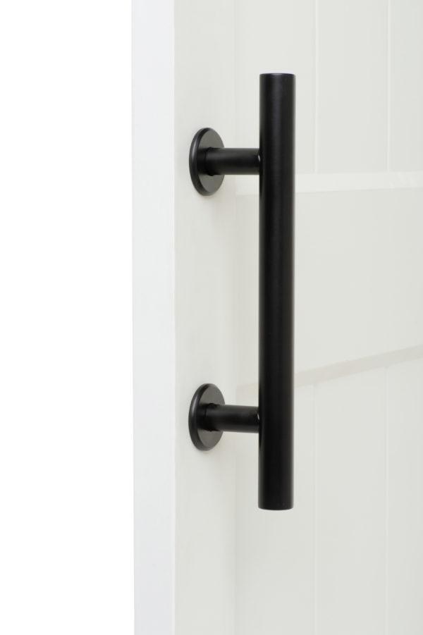 Black Alperton On Door Front