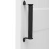 Deben Door Handle On Door Matte Black
