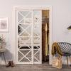 Urban Lace Mirror Bypass Closet Door Lifestyle