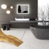 Grey Colors of Bathroom