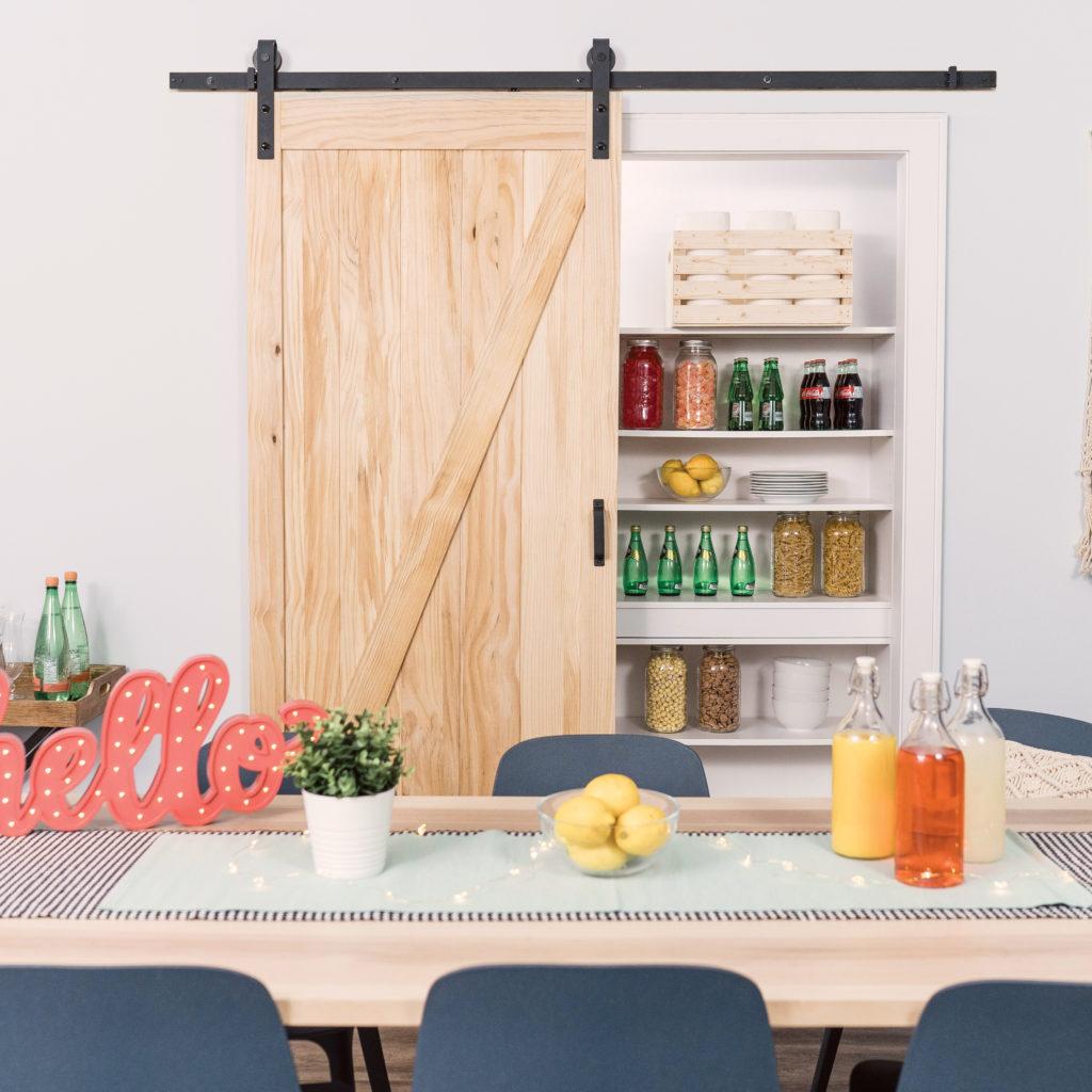 Salinas Z-Design Barn Door Kit