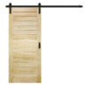 Flair Barn Door Pine Product