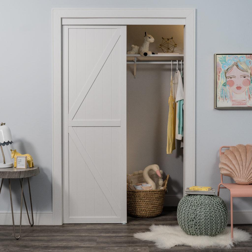 Trident Double-K Design Bypass Closet Door