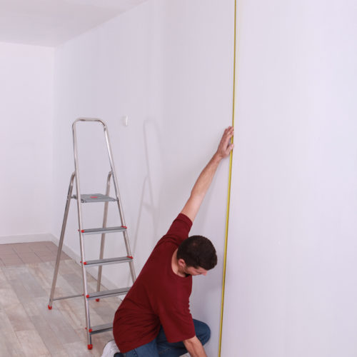 Measure Ceiling clearance