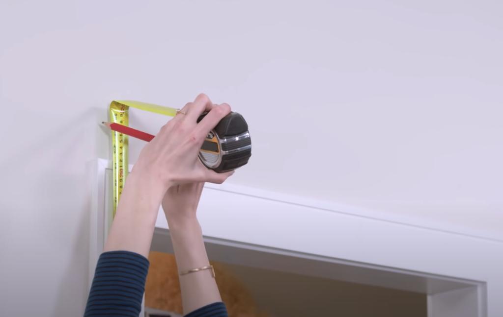 Measure Door opening height